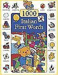 1000 First Words in Italian by Don Campaniello (2013, Hardcover)