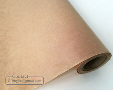 Kraft Waxed Paper(53cmx18M)_Vintage brown gift wrapping paper_Soap bakery candy