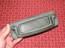 Antique bronze letter box plate with door knocker / mail slot