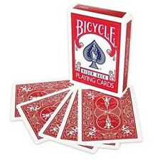 Double Back Red on Red Bicycle Deck Magic Playing Cards magic Trick Magician New