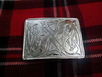 TC New Celtic Entwined Pattern Kilt Belt Buckle/Scottish Kilt Buckles Celtic