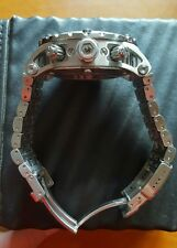 MENS SWISS MADE INVICTA WATCH,  CRADLE CASE MADE OF OVER 40 PIECES RARE WATCH