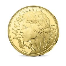 FRANCE 250 Euro Or MARIANNE 2017 version BU - Gold Coin