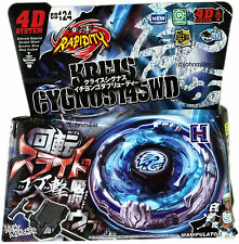 Kreis Cygnus Metal Fury Fight 4D Beyblade Starter Set NIP + Launcher - US SELLER