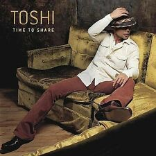 CD Time To Share - Toshi NEW