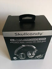 Skullcandy Skullcrushers Pinstripe Headband Headphones - Black - lot of 5