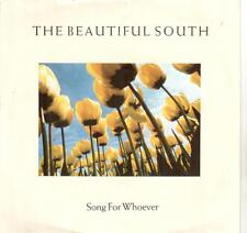 """4720-20  7"""" Single: The Beautiful South - Song For Whoever"""