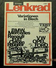 Lenkrad 07-08/67 Test Renault R 16,Rallye-Kadett,Simca 1301, London 67: Tips-ABC