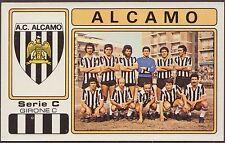 CALCIATORI PANINI 1976/77 572 ALCAMO SQUADRA + STEMMA NEW