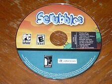 Scrubbles PC CD-ROM 2006 Oberon Media & Elephant Enter. game for Windows XP/2000