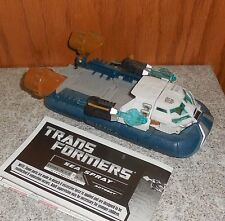 Transformers Hftd SEASPRAY Complete Hunt For The Decpeticons Voyager Figure