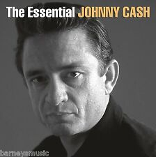 JOHNNY CASH ( NEW SEALED 2 x CD SET ) THE ESSENTIAL GREATEST HITS / VERY BEST