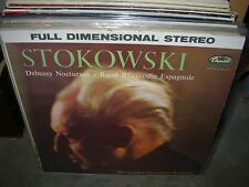 STOKOWSKI / DEBUSSY / RAVEL nocturnes / rhapsodie ( classical ) capitol stereo