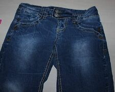 Angel's Distress Skinny Blue Jeans Size 7
