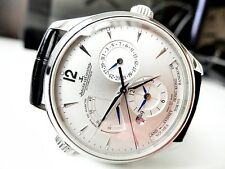 JAEGER LECOULTRE MASTER GEOGRAPHIC AUTOMATIC 1428421 / 176.8.29.S ~LATEST MODEL~
