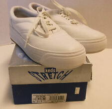 WOMEN'S KEDS STRETCH CVO NURSE SHOES ATHLETIC TENNIS SNEAKERS, WHITE US 9.5 VGC