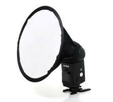Round Flash Softbox Diffuser for Nikon SB910 SB900 SB600 YONGNUO YN-560 II/III
