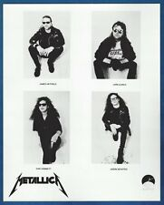 "Metallica ""Black Album"" Vintage Publicity/Press Photo Slayer Megadeth Exodus"