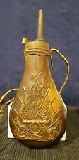 Reproduction Civil War Colt's Patent Powder Flask ~ 1851 Navy
