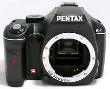 PENTAX K-x 12.4 MP Digital SLR Camera Black Body Only PARTS OR REPAIR