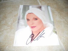 """Joan Collins Sexy Signed Autographed 7.25""""x9.25"""" Book Photo #4 PSA Guaranteed"""