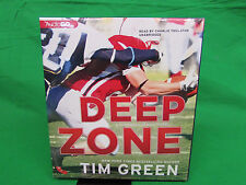 Deep Zone : The Football Genius Series #5 by Tim Green (2013, CD)