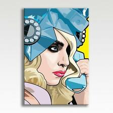 """LADY GAGA - CANVAS Fame Artpop Pop Art Poster Photo Wall Art 30"""" x 20"""" CANVAS"""