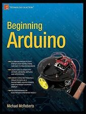 Beginning Arduino, McRoberts, Michael, New Book