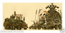 Mad Max Fury Road A Lovely Day Scott C Campbell Art print poster