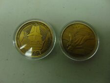 CHALLENGE COIN FREE CAPSULE SHIPPING REMEMBERING 9-11 PENTAGON USA LETS ROLL