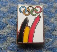 NOC BELGIUM OLYMPIC LONDON 2012 ENAMEL PIN BADGE