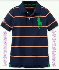 AUTH. BNIB RL RALPH LAUREN US OPEN STRIPED BIG PONY POLO, SIZE 3T