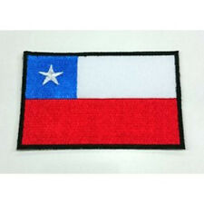 Chile Chilean Nation Country Flag Embroidered Sew/Iron On Patch Patches