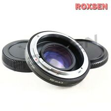 Focal Reducer Speed Booster Adapter Canon FD mount lens to Micro 4/3 GH4 E-PL7
