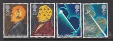 GB GREAT BRITAIN 1991 SCIENTIFIC ACHIEVEMENTS SET NEVER HINGED MINT