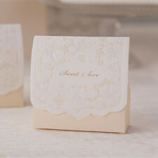 30 Personalized Wedding Engagement Anniversary Party Cake Favour Gift Box Boxes