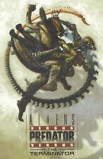 Aliens vs. Predator vs. The Terminator by Mel Rubi, Mark Schultz Paperback 2001