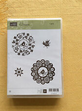 Stampin Up...FOUR SEASONS Clear Mount NEW!  Rubber Stamp