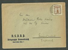 N.S.D.A.P Cover Oetsgeuppe Grevenbroich 1940