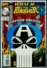 Marvel Comics WHAT IF Vol 2 #51 The Punisher Became Captain America NM 9.4