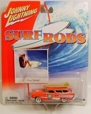 1957 '57 CHEVY CHEVROLET NOMAD SURF RODS DIECAST JL JOHNNY LIGHTNING RARE