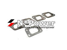 MLS STAINLESS STEEL EXHAUST TURBO MANIFOLD GASKET SET for TD27 Terrano D21