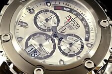 Invicta Reserv Specialty Subaqua Swiss Retrograde Chronograph Silver Dial Watch