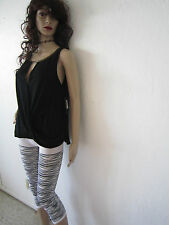 New - ELLA MOSS Stella Top !!  Sheer Black !! Sold Out In Stores !!  Size M