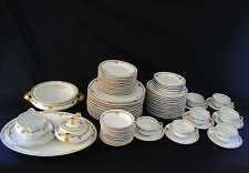 Theodore Haviland Limoges France Vintage Dinnerware Set 71 Pcs