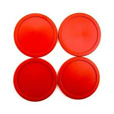 "4 pcs 63mm 2.5"" 13g Red Home Air Hockey Table Lot of 4 Pucks USA Seller DURABLE!"