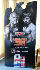 Floyd Mayweather Jr V Manny Pacquiao Oficial Cartón Standup Pantalla 33 X 70 ""