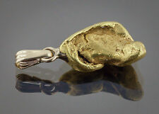 Californian Natural Gold Nugget Pendant, 6.82 Grams, Tested over 22K