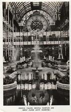 Crystal Palace Crystal Fountain Great Clock 40 ft diameter unused RP pc