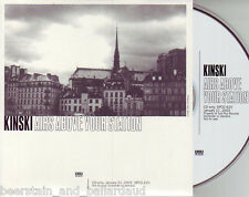Kinski Airs Above Your Station PROMO CD Sub Pop RARE!